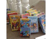 Selection of Tweenies videos
