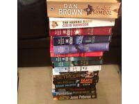 Various paperback books - 15