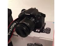 Canon 650D/Rebel T4i with 18 - 55mm lens, carry bag & accessories