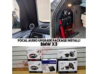BMW 1 3 5 6 7 Series X1 X3 X5 X6 Car Audio Door Speakers & Subwoofer Upgrade Supply & Install