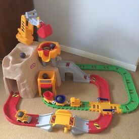 Little Tikes - Big Adventures Construction Peak Rail and Road Track - Age 2yrs + - £35