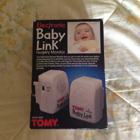 Tommy baby monitor