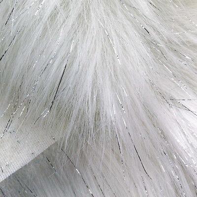 ric WHITE Winter Wonderland Snow Fantasy Shiny Silver DIY (Winter White Wonderland)