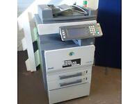 Olivetti D-Colour MF25 A4 & A3 copier,printer & scanner.