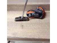 PING. 1/2 CRAZ-E centre shaft putter