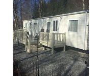 Spacious 3 Bedroom Luxury Caravan for hire at Tummel Valley Holiday Park, Tummel Bridge, Pitlochry