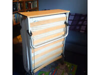 Single Z-bed, hardly used, collection only from G72 Cambuslang. £15