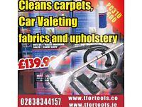 SEALEY PC310 VALETING VALET MACHINE WET & DRY CARPET 7 UPHOLSTERY CLEANER