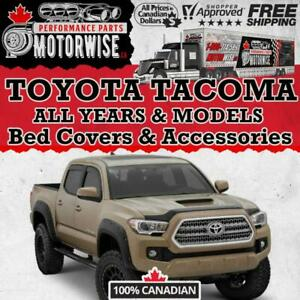 Toyota Tacoma Bed Covers - Accessories - Performance Parts | FINANCING Available | Shop & Order Today at Motorwise.ca