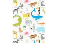 John Lewis Scion Animal Magic wallpaper.