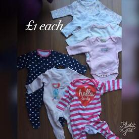 Baby Girl Clothes bargains