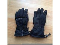 Next Men's Ski Type Black Gloves In Excellent Condition