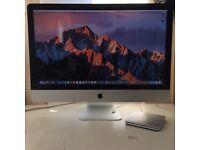 """Apple iMac A1312 27"""" 3.06GHz C2D 16GB RAM 480GB SSD 1TB HD macOS Sierra + external DVDRW"""