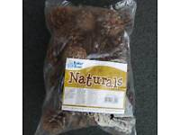 Natural pine cones 250g. Unused bag