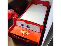 Toddler disney pixar cars bedroom set
