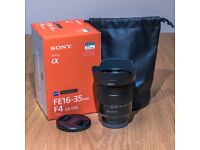 Sony Zeiss Vario Tessar T* FE 16-35 mm F4