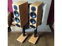 PMC FACT.3 Speakers - RRP £4100 - Oak - Fact 3 Floor standing WITH BOXES £2100 🔥