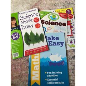 8-9 home work books