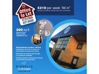 Ground Floor Offices to Let - RATES AND UTILITIES INCLUDED - Milnathort. 52.03 sq m (560 sq ft)