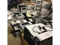 Job lot of A4 mfds photocopiers and printers all tested working