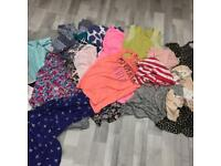 Size 14 bundle woman's clothes tops dresses
