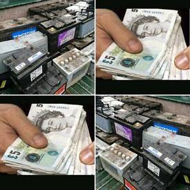 Old car BATTERYS WANTED for CASH