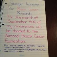 Younique Fundraiser for Breast Cancer Research
