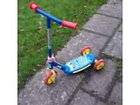 kids three wheel scooter