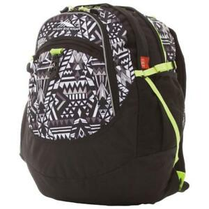 High Sierra 64020-5814 Tablet Day Backpack - Geo Weave/Black/Zest (New Other)