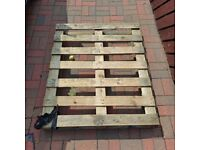 2 Pallets for FREE - Good for firewood or garden projects. COLLECTION ONLY - STILL AVAILABLE