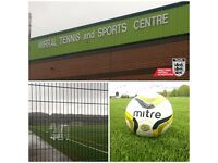 ***5/6 ASIDE TEAMS WANTED FOR BRAND NEW LEAGUE AT BIDSTON TENNIS CENTRE***
