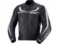 Motorbike leather jacket IXS SHERTAN .. new with hangtags (Original Value= 280 GBP)