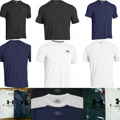 Men Under Armour T-Shirt Crew Neck Short Sleeve Fully Cotton & Other Brand Polo