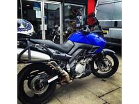 Touring Suzuki 1000 Dl Vstrom for sell or p/x for Silverwing SH 300i fazer hornet Tenere XT 660