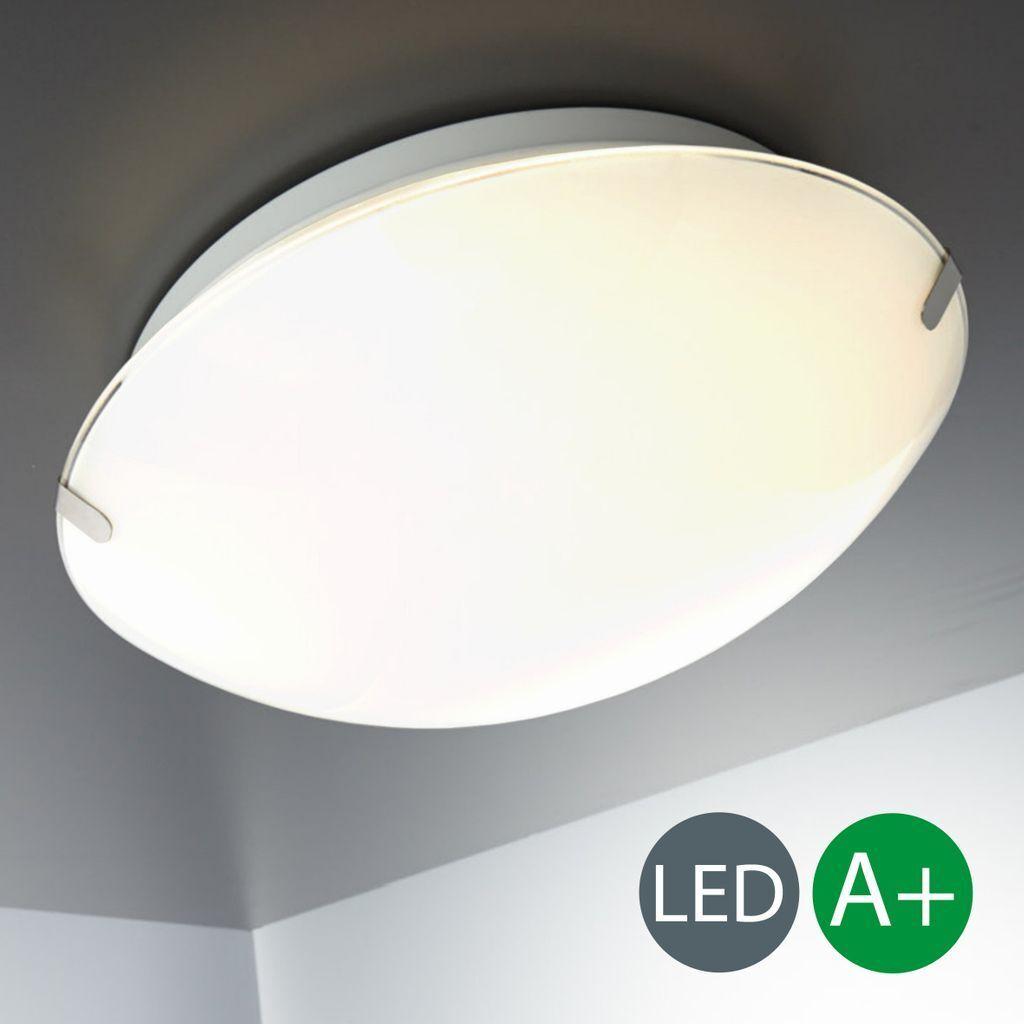 Deckenlampe LED Badleuchte Glas Deckenleuchte Wohnzimmer Lampe ...
