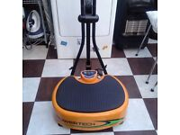 Powertech Vibration Plate, 4 power levels, handles can be removed for easy storage