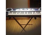 Yahama keyboard with stand