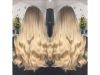 Hair Extension Services - Micro Rings, Keratin Bonds, Weaves, Tapes