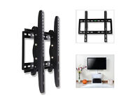 "Universal Slim TV Wall Mount Bracket with Tilt fits 26"" up to 55"" Flat Panel"