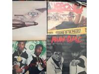 Hip hop vinyl albums