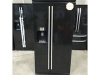 RangeMaster Black A+++No Frost American F-F With Water Dispenser(BRING YOUR OLD ONE AND GET NEW-25%)