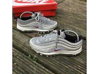 Nike air max 97 silver bullet trainers size 6
