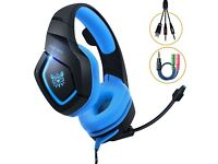 Gaming Headset for gaming consuls and pc,nintendo switch etc