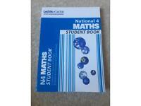 Nat 4 maths textbook + free other maths support books