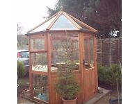 Beautiful Handmade Cedar Glasshouse for Sale