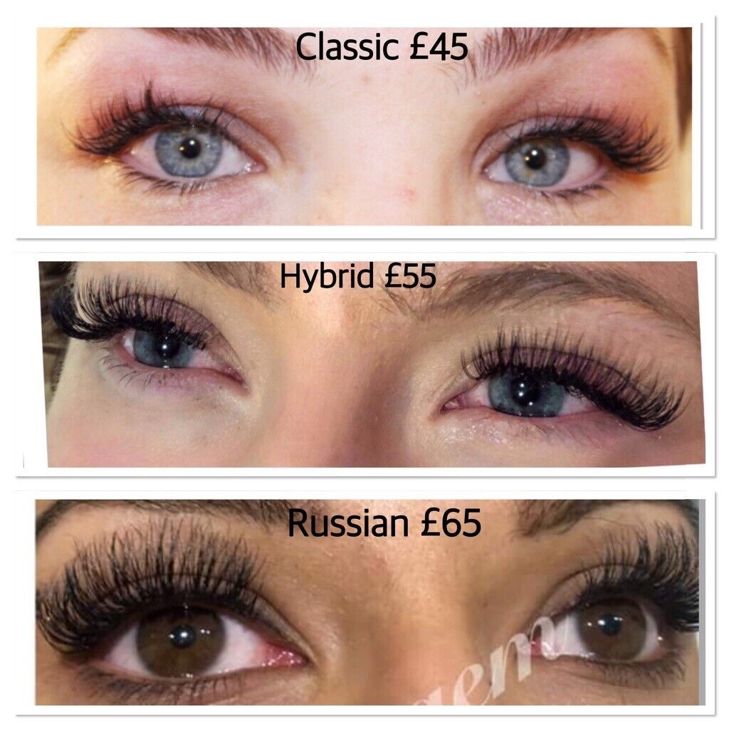 f0882aeac26 Individual eyelashes, eyelash extension, hybrid and Russian 3D eyelashes,  microblading, nanoblading | in Central London, London | Gumtree