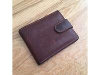 Smith & Canova tan leather wallet