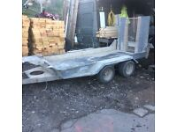 Ifor Williams Plant trailer 2011
