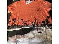 Boys H&M orange print T shirt, new, various sizes