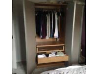 2 x Wardrobes including full length mirror, £50 for one or £80 for both